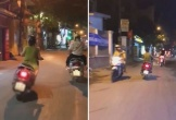 Nữ 'ninja Lead' lướt đi vù vù trên đường, liên tục đánh võng trước đầu ô tô