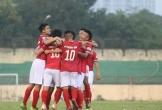 Đội bóng Hà Tĩnh và Phố Hiến chia điểm trong trận đấu có 2 thẻ đỏ
