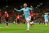 Đánh bại MU, Man City vượt lên dẫn đầu cuộc đua vô địch Premier League