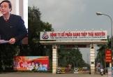 Đình chỉ sinh hoạt Đảng đối vi Bí thư Đảng ủy Công ty Gang thép Thái Nguyên