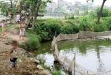 4 học sinh bị điện giật khi tắm ao, 2 em tử vong