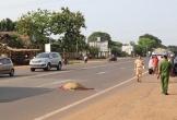 Bất ngờ lao ra đường, người đàn ông bị xe khách đâm tử vong