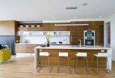 Mẫu căn bếp hiện đại cho gia đình trẻ