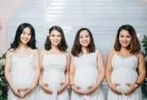 4 chị em ruột cùng mang bầu