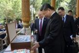 Putin tặng thùng kem que mừng sinh nhật Tập Cận Bình