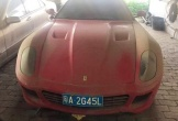 Siêu xe Ferrari 599 trị giá 2,9 tỷ,
