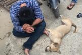 Thanh niên trộm chó bị người dân vây đánh