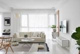 Nội thất trắng, đen trong căn hộ phong cách Scandinavian