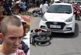 Bị yêu cầu dừng ô tô kiểm tra, đối tượng tông xe cảnh sát rồi kéo lê hơn 1km