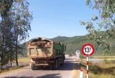 Cầu 13 tấn oằn mình 'cõng' xe 40 tấn ở Hà Tĩnh: CSGT lập chốt chặn xe vi phạm