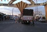 Xe tải tông sập cổng chào thành phố Mỹ Tho