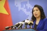 Người phát ngôn nói về vi phạm chủ quyền VN của nhóm tàu Trung Quốc