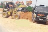 Hà Tĩnh: Khu quy hoạch dân cư Bắc Cầu Nủi biến thành bãi tập kết đất trái phép