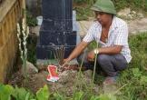Bàng hoàng phát hiện một thi thể bé gái sơ sinh ở nghĩa trang