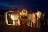 Hà Tĩnh: Xe máy va chạm với xe ô tô quân đội, một người tử vong