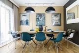 Ngắm những phòng ăn lịch lãm, mang phong cách hiện đại