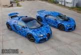 Bugatti Veyron, Chiron đã hiếm, lại độ màu xanh cực độc hút tâm trí người nhìn
