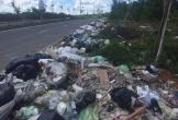 """Hà Tĩnh: """"Khiếp đảm"""" những hình ảnh phố núi ngập trong rác thải!"""