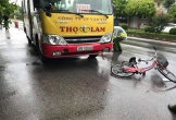 Hà Tĩnh: Va chạm với xe buýt, cụ ông 90 tuổi đi xe đạp tử vong