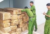 Bắt giữ xe tải vận chuyển 54 phiến gỗ không rõ nguồn gốc