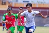 Danh Trung ghi bàn tước cơ hội thăng hạng sớm của CLB Hà Tĩnh