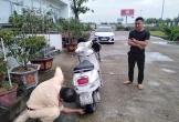 Người đi xe máy ngược chiều trên cao tốc bị phạt 750.000 đồng