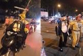 Trư Bát Giới, Tôn Ngộ không bị CSGT thổi phạt vì đi xe máy không đội mũ bảo hiểm
