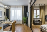 3 căn hộ có diện tích chỉ 30m2 nhưng rộng rãi không tưởng, đại gia đình ở thoải mái không lo chật