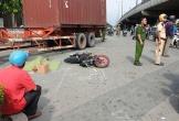 Va chạm với container, chồng thoát nạn, vợ tử vong