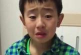 Cậu bé tiểu học khóc lóc vì mẹ sắp sinh em bé nhưng câu nói sau đó mới khiến ai nấy hốt hoảng