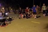Đua tốc độ bàn thờ ở Hà Nội, 2 xe máy tông nhau, 4 tổ lái nguy kịch