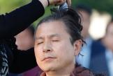 Một loạt chính khách Hàn Quốc cạo đầu để biểu tình