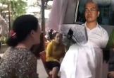 Clip mẹ Nguyễn Thái Luyện khóc nức nở, nói 'con hy sinh vì mấy ngàn anh em'