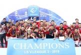 Ðội Hồng Lĩnh Hà Tĩnh vô địch Giải bóng đá hạng nhất quốc gia năm 2019