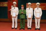100% số xã huyện miền núi, biên giới Hương Sơn có Công an chính quy