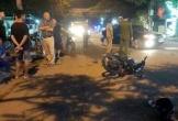 Hai xe máy tông nhau kinh hoàng tối 29 Tết