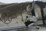 Máy bay quân sự Mỹ bị rơi ở Afghanistan