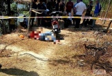Thanh niên nghi bị sát hại, gục chết cạnh xe máy ngày mùng 4 Tết
