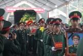 Nghệ An: Tiễn biệt bốn liệt sĩ hi sinh ở Rào Trăng 3 về với đất mẹ