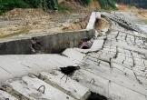 Hà Tĩnh: Công ty Thảo Nguyên thi công tuyến Kè chưa xong đã sụt lún, gãy sập
