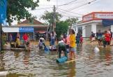 Dậy sóng chuyện 'đội quân' ra đường xin quà cứu trợ ở Hà Tĩnh