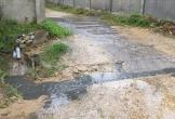 Hà Tĩnh: Trại lợn xả thải đen ngòm ra khu dân cư, địa phương lúng túng