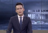 BTV VTV ngưng dẫn 30 giây ở chương trình trực tiếp về miền Trung