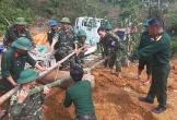 Hà Tĩnh: Quả bom xuyên phá nặng 450kg bất ngờ lộ thiên sau trận lũ