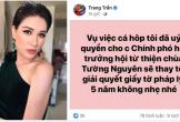 Trang Trần tuyên bố 'xử lý' kẻ ăn chặn 2 tấn cá hộp cứu trợ miền Trung