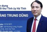Tân Bí thư Tỉnh ủy Hà Tĩnh là tiến sĩ Chính trị học