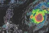 Goni trở thành siêu bão mạnh nhất thế giới trong năm 2020