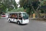 Khu Di tích Ngã ba Đồng Lộc lần đầu đưa xe điện vào hoạt động