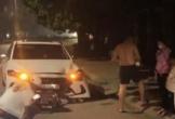Thanh tra giao thông điều khiển ôtô chạy ngược chiều tông tử vong nữ công nhân môi trường