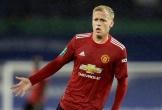 Van de Beek đăng ảnh gây sốc sau lần đầu đá chính ở Premier League